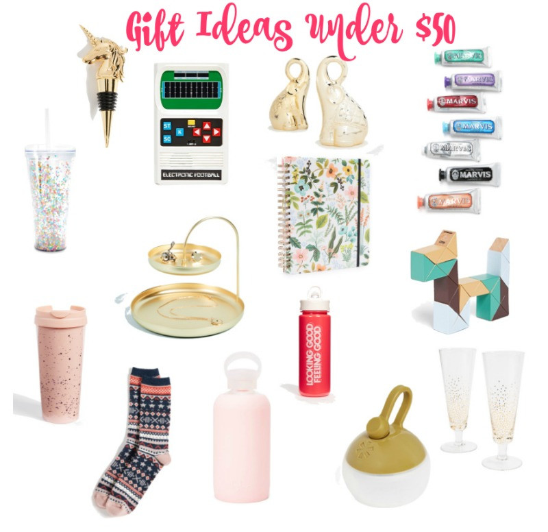 Best ideas about Gift Ideas Under 50 . Save or Pin Gift Ideas Under $50 Beauty by Miss L Now.