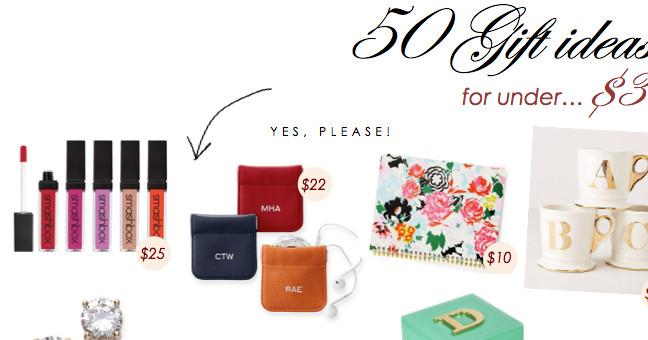 Best ideas about Gift Ideas Under 50 . Save or Pin 50 Gift Ideas Under $30 Now.