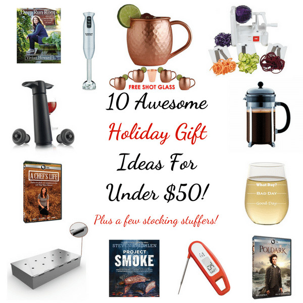 Best ideas about Gift Ideas Under 50 . Save or Pin 10 Awesome Holiday Gift Ideas For Under $50 Now.