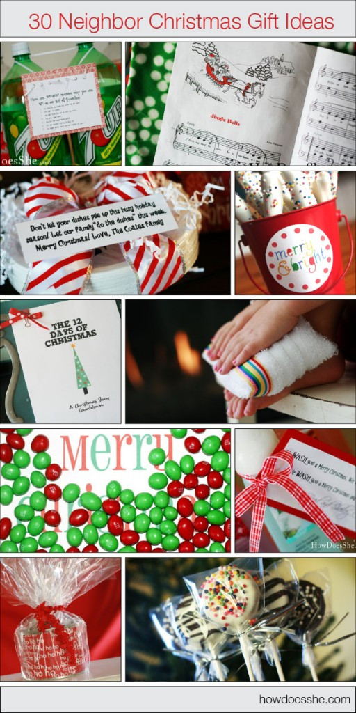 Best ideas about Gift Ideas With Pictures . Save or Pin It s Written on the Wall 286 Neighbor Christmas Gift Now.