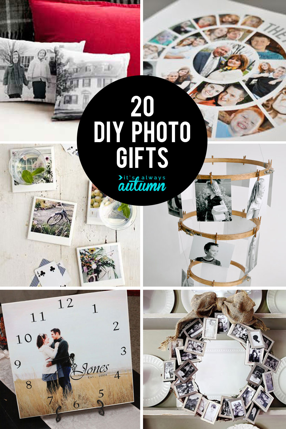Best ideas about Gift Ideas With Pictures . Save or Pin 20 fantastic DIY photo ts perfect for mother s day or Now.
