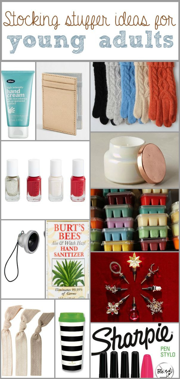 Best ideas about Gift Ideas Young Adults Under 25 . Save or Pin Best 25 Stocking stuffers ideas on Pinterest Now.
