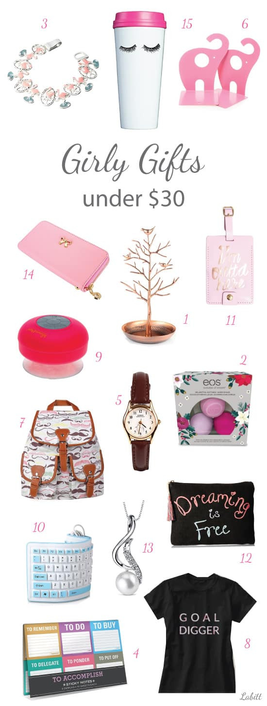Best ideas about Gift Ideas Young Adults Under 25 . Save or Pin 15 Girly Girl Gift Ideas for Adults and Youngsters Now.