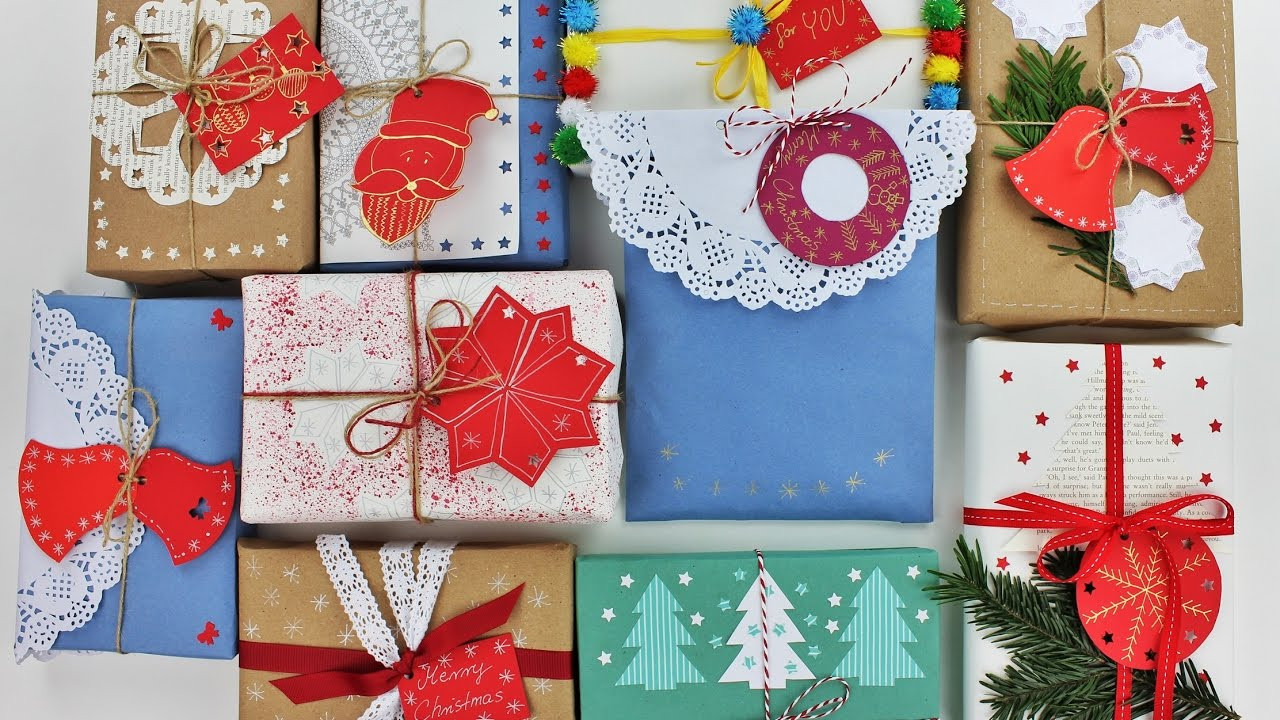 Best ideas about Gift Wrapping Ideas For Christmas . Save or Pin 10 Creative Christmas Gift Wrapping Ideas Wrapping ts Now.