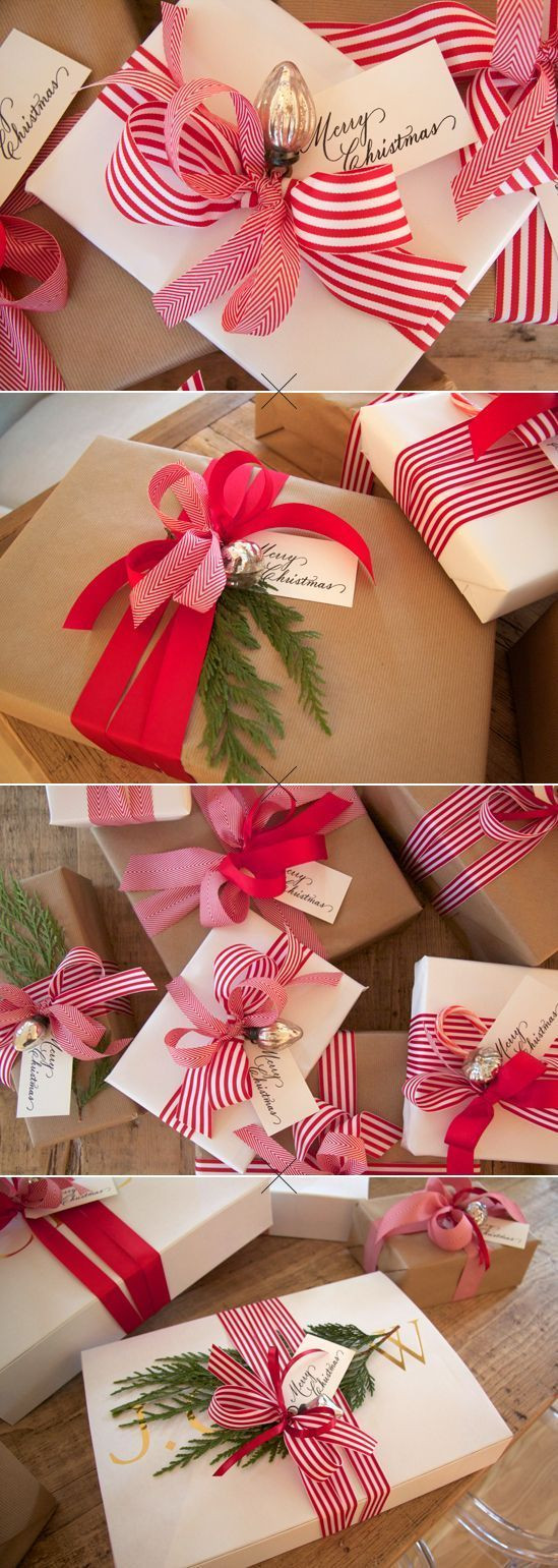 Best ideas about Gift Wrapping Ideas For Christmas . Save or Pin Gift Wrapping Ideas & Printable Gift Tags The Idea Room Now.