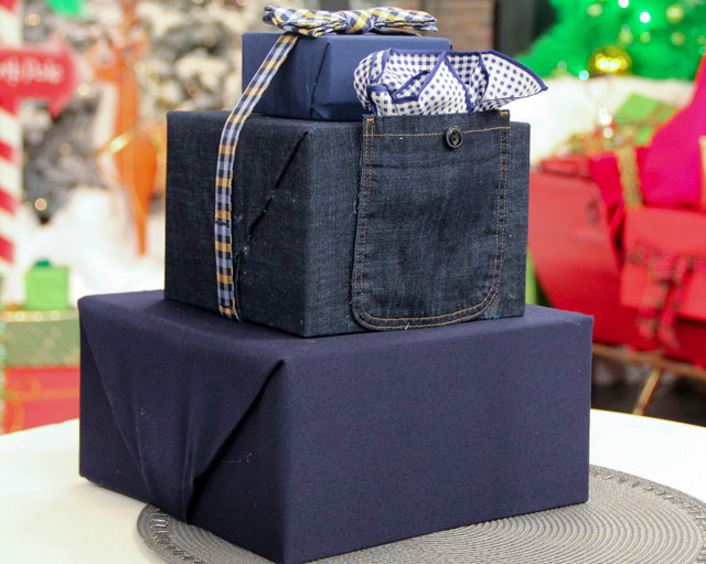Best ideas about Gift Wrapping Ideas For Him . Save or Pin 4 Creative Holiday Wrapping Ideas Steven and Chris Now.
