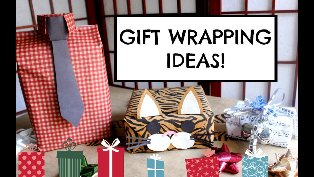 Best ideas about Gift Wrapping Ideas For Him . Save or Pin DIY GIFT WRAPPING IDEAS EASY CUTE & CREATIVE Now.