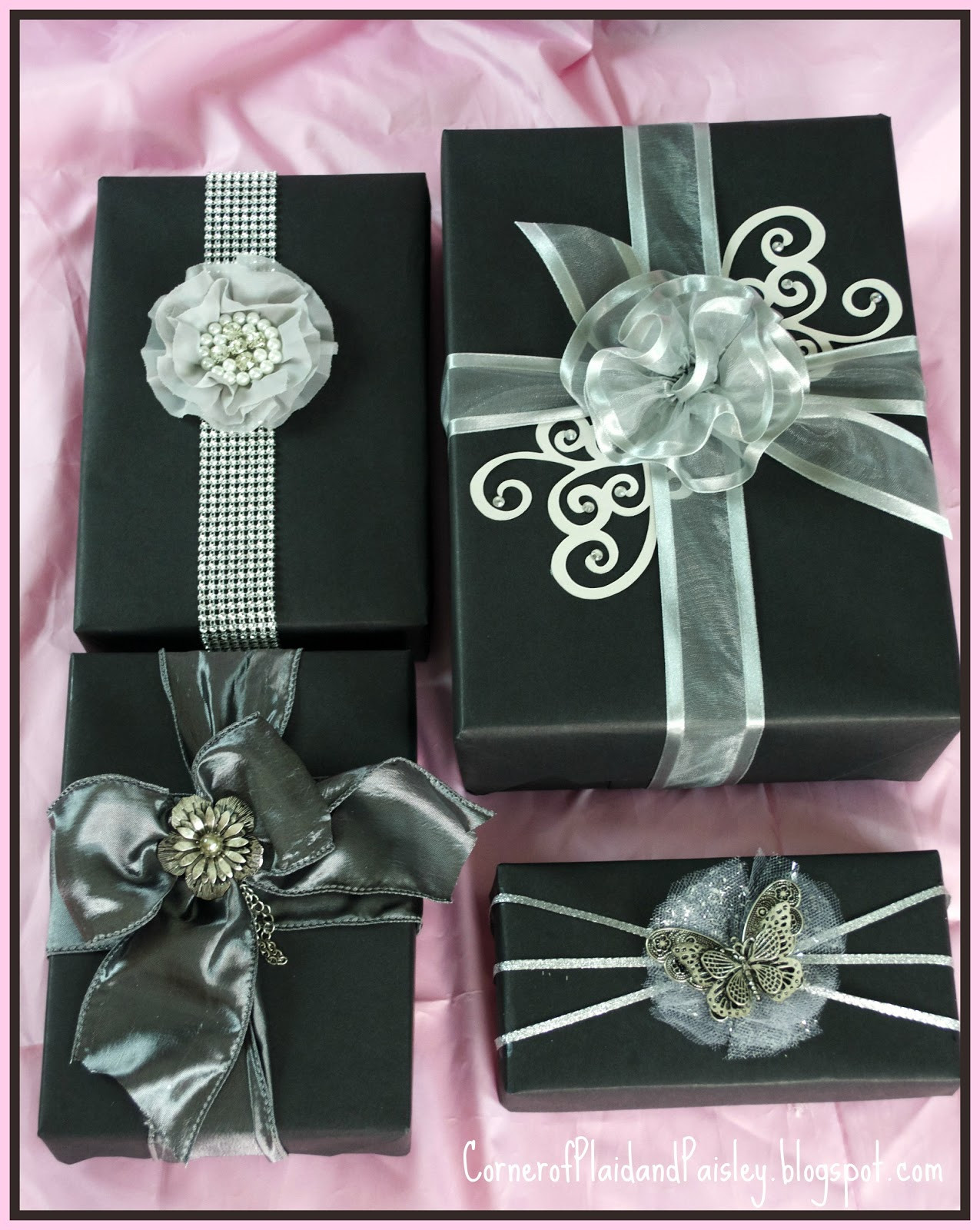 Best ideas about Gift Wrapping Ideas For Him . Save or Pin Corner of Plaid and Paisley Gift Wrapping with Jewelry Now.