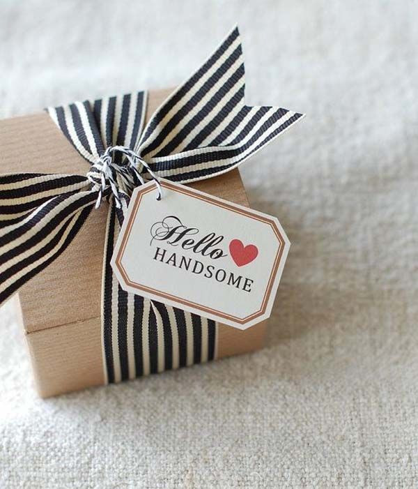 Best ideas about Gift Wrapping Ideas For Him . Save or Pin Valentine s Day Gift for Him Now.