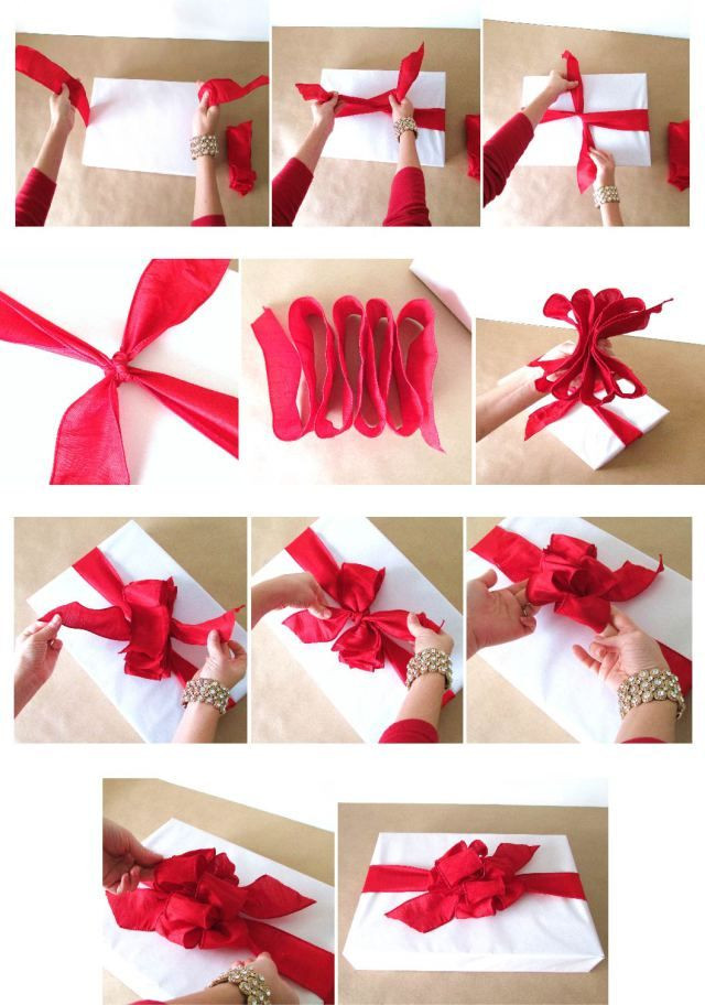 Best ideas about Gift Wrapping Ideas Ribbon . Save or Pin 77 best images about Bows on Pinterest Now.