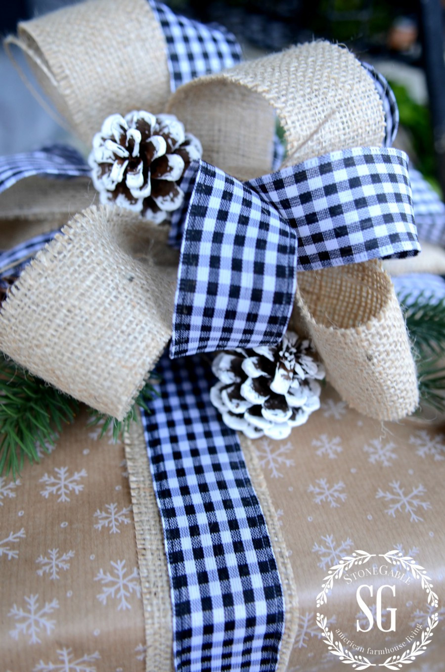 Best ideas about Gift Wrapping Ideas Ribbon . Save or Pin CHRISTMAS GIFT WRAPPING IDEAS StoneGable Now.