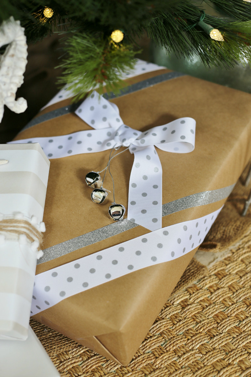 Best ideas about Gift Wrapping Ideas Ribbon . Save or Pin Creative Christmas Gift Wrapping Ideas Sand and Sisal Now.