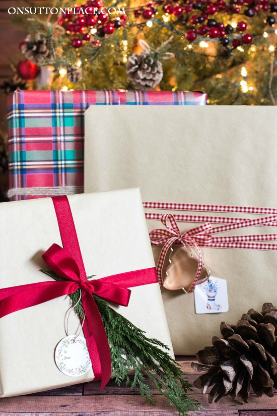 Best ideas about Gift Wrapping Ideas Ribbon . Save or Pin Easy Christmas Gift Wrap Ideas Sutton Place Now.