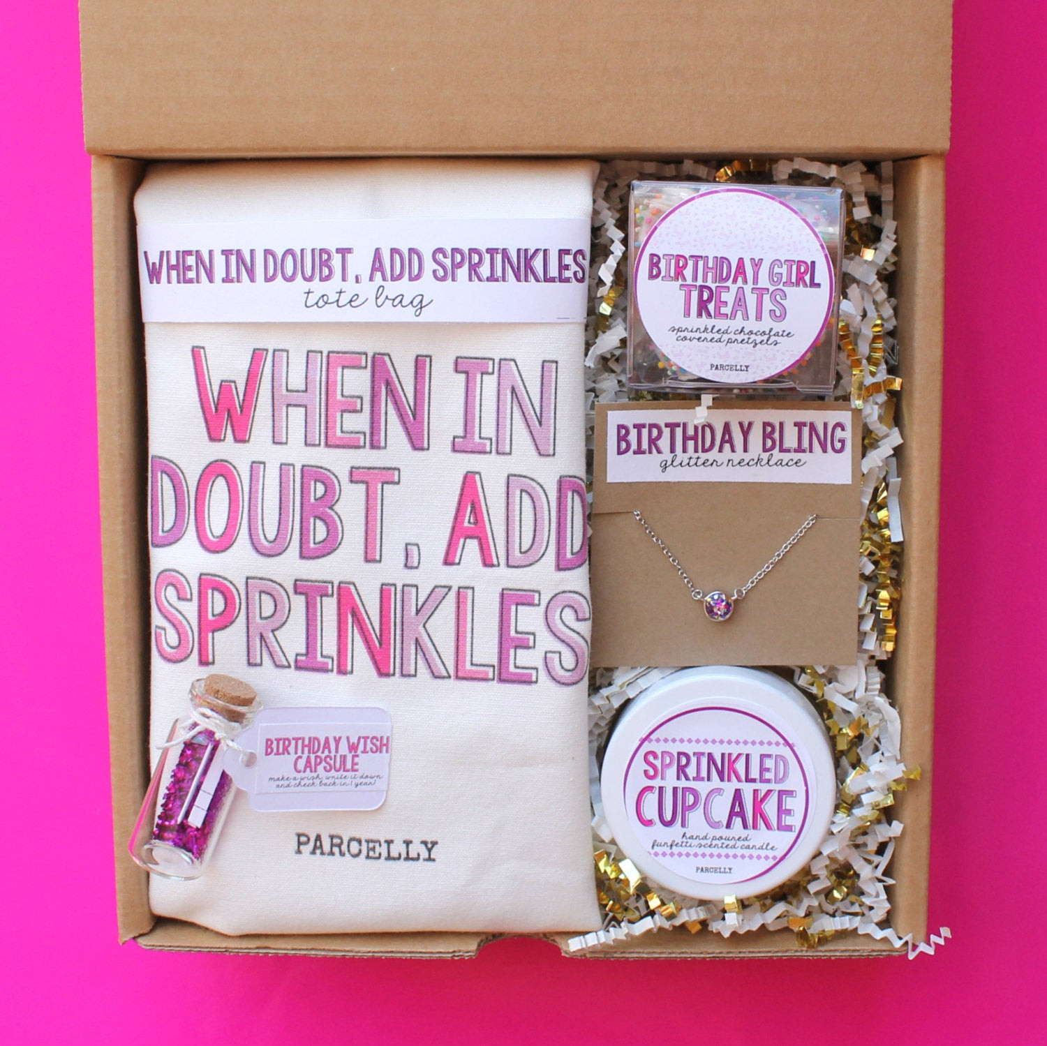 Best ideas about Gifts For Best Friends Birthday . Save or Pin Best Friend Birthday Gift Birthday Gift Basket Birthday Box Now.