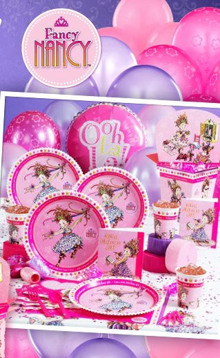 Best ideas about Girl Birthday Party Supplies . Save or Pin Fancy Nancy Party Supplies Say Oh La La Now.