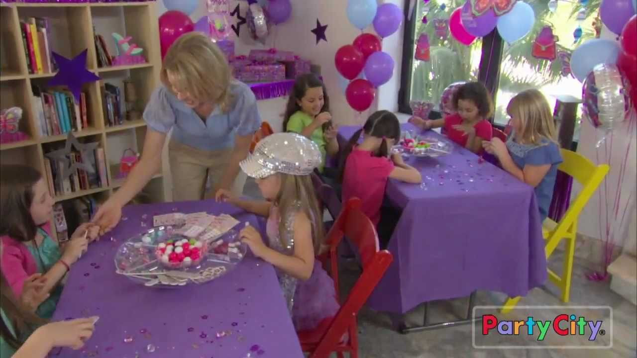 Best ideas about Girl Birthday Party Supplies . Save or Pin Glitzy Girl Birthday Party Ideas Now.