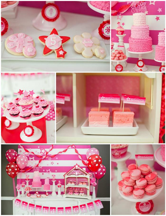 Best ideas about Girl Birthday Party Supplies . Save or Pin Kara s Party Ideas American Girl Doll Birthday Party Now.
