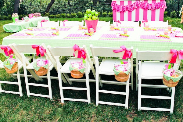 Best ideas about Girl Birthday Party Supplies . Save or Pin Kara s Party Ideas Apple of My Eye Girl Pink Green Fruit Now.