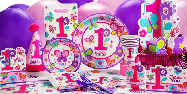 Best ideas about Girl Birthday Party Supplies . Save or Pin Sweet Girl 1st Birthday Party Supplies 1st Birthday Now.