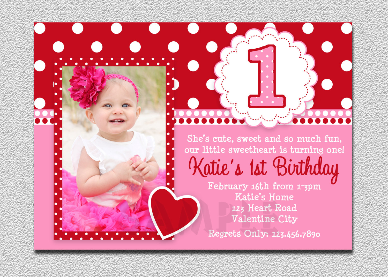 Best ideas about Girl First Birthday Invitations . Save or Pin Free Printable 1st Birthday Invitations Girl – FREE Now.