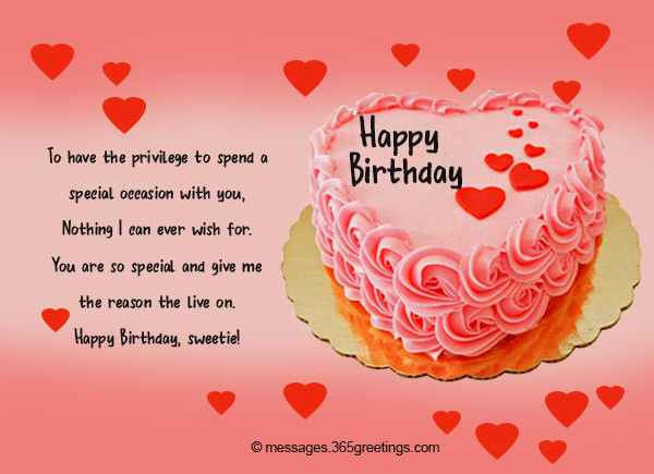 Best ideas about Girl Friend Birthday Wishes . Save or Pin Birthday Wishes for Girlfriend 365greetings Now.