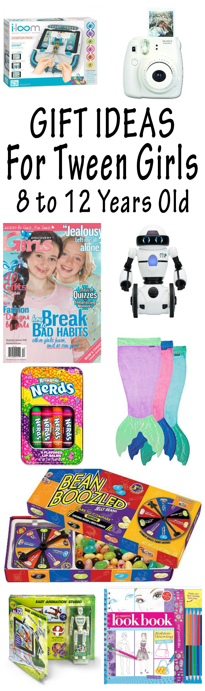 Best ideas about Girl Gift Ideas Age 9 . Save or Pin Gift Ideas For Tween Girls They Will Love 2017 Christmas Now.