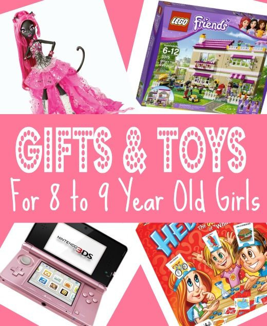 Best ideas about Girl Gift Ideas Age 9 . Save or Pin Best Gifts & Toys for 8 Year Old Girls in 2013 Christmas Now.