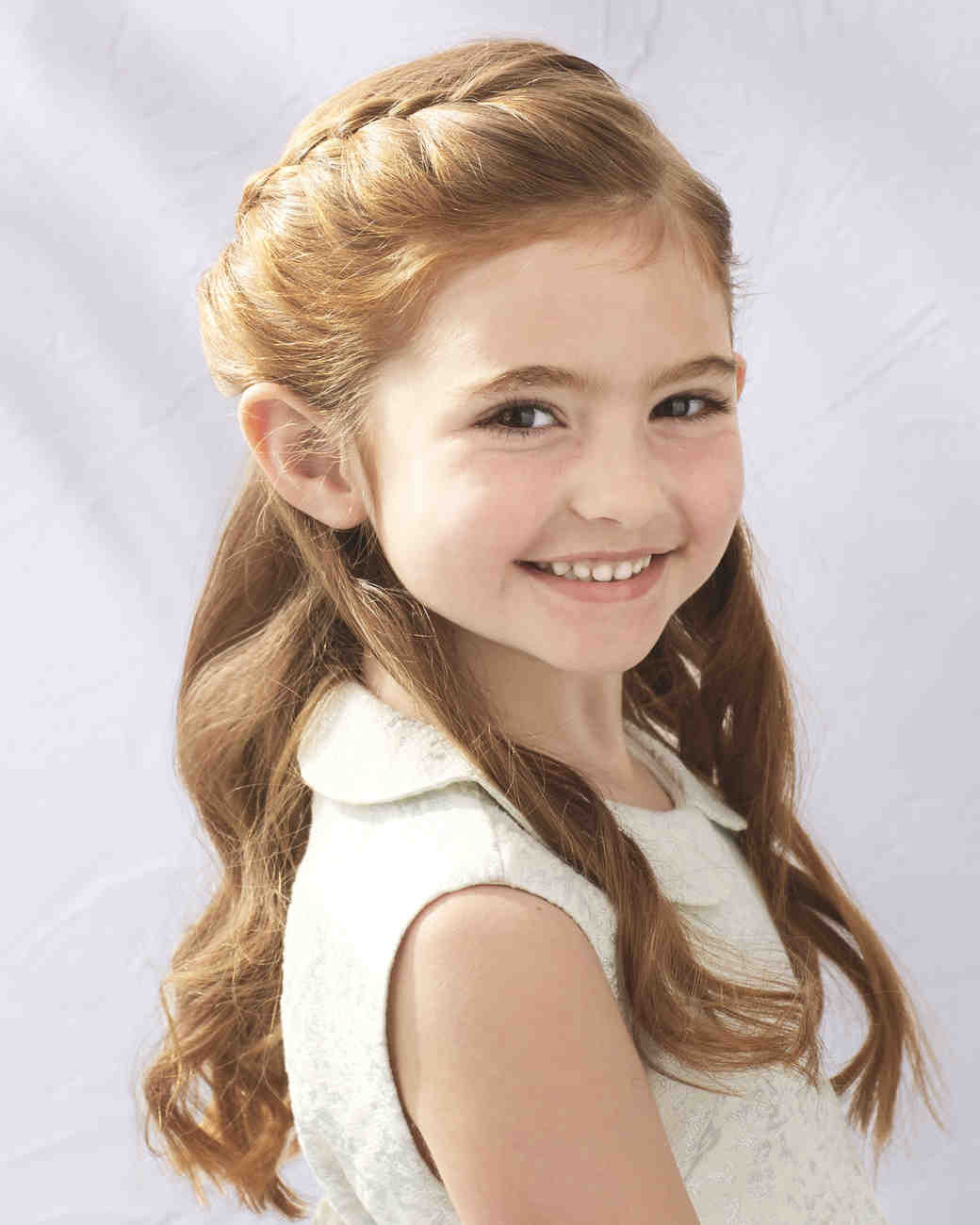 Best ideas about Girl Hairstyle . Save or Pin Flower Girl Hairstyles That Are Cute and fy Now.