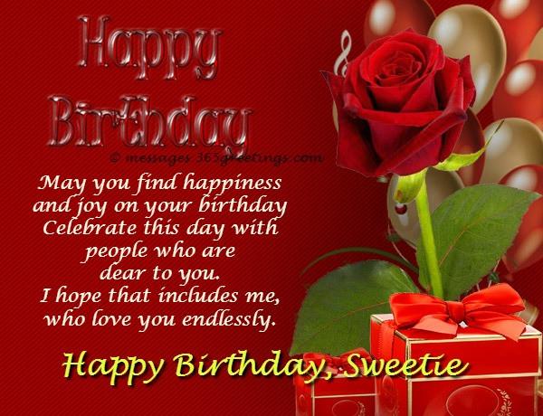 Best ideas about Girlfriends Birthday Wishes . Save or Pin Birthday Wishes for Girlfriend 365greetings Now.