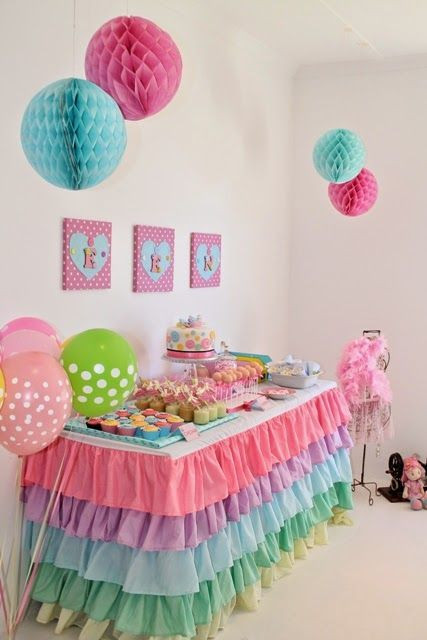 Best ideas about Girls Birthday Party Decorations . Save or Pin 34 Creative Girl First Birthday Party Themes and Ideas Now.