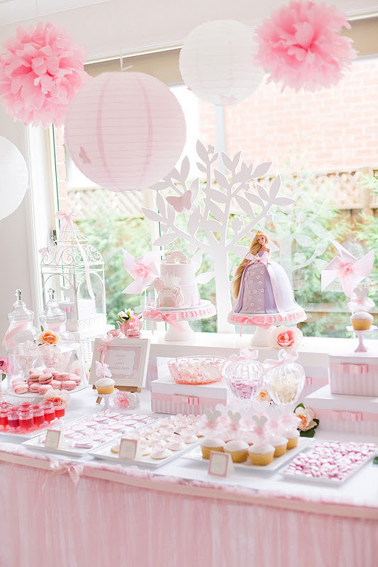 Best ideas about Girls Birthday Party Decorations . Save or Pin Kara s Party Ideas Tangled Enchanted Garden Birthday Now.