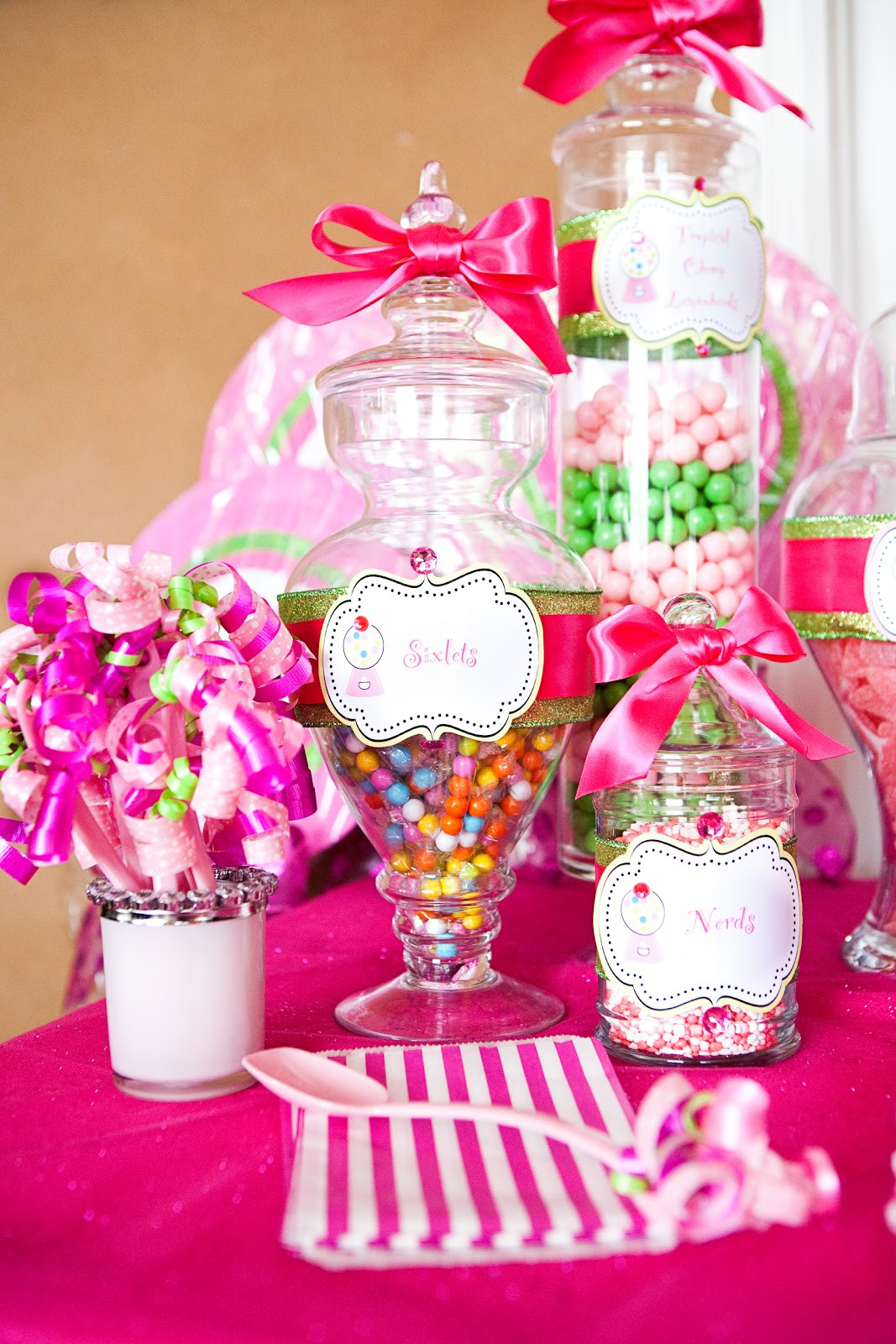 Best ideas about Girls Birthday Party Decorations . Save or Pin The TomKat Studio Sweet Customers Pink Sweet Shoppe Now.