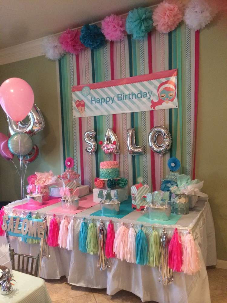 Best ideas about Girls Birthday Party Decorations . Save or Pin Little Spa Birthday Party Ideas in 2019 Now.