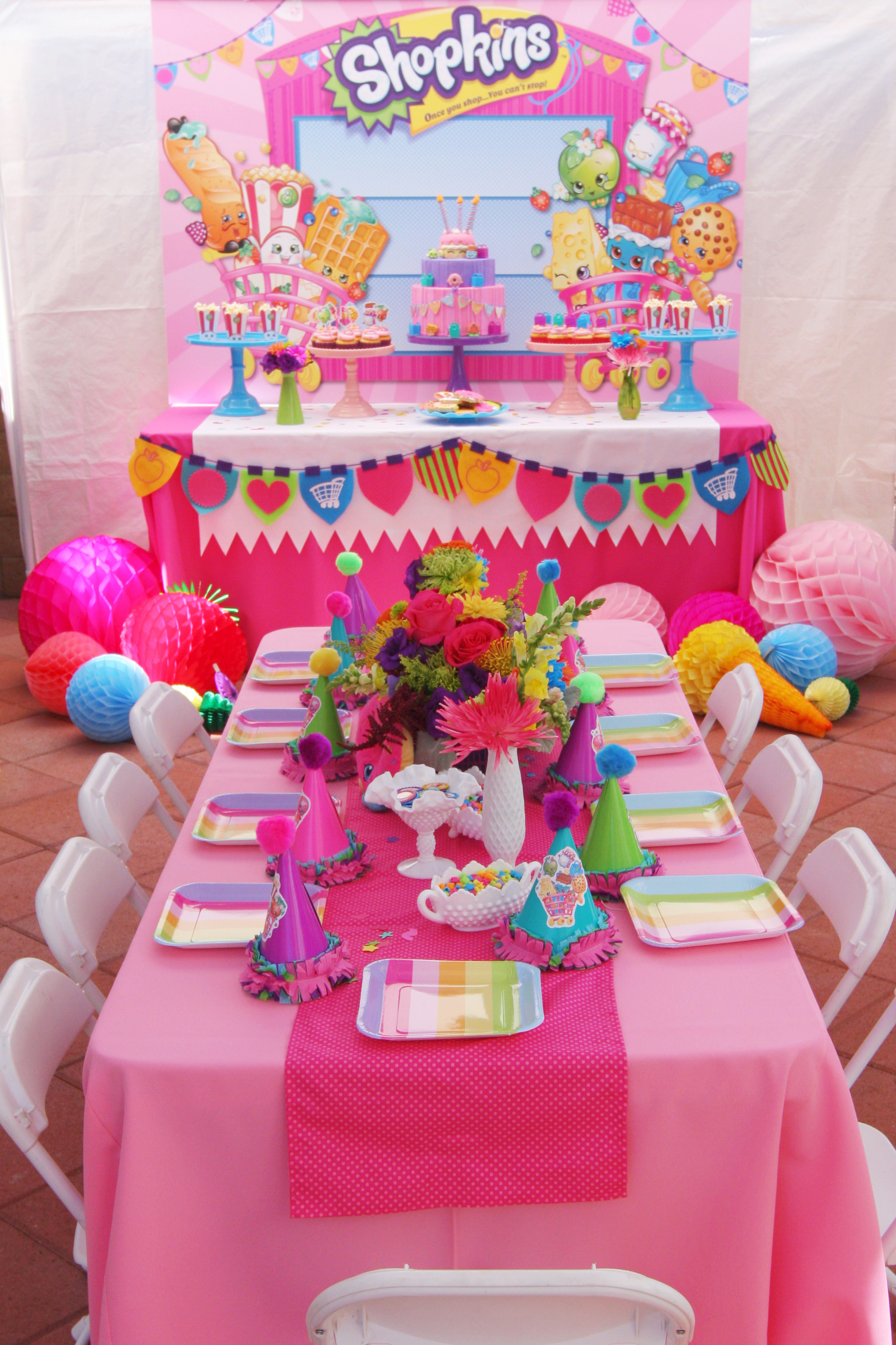 Best ideas about Girls Birthday Party Decorations . Save or Pin Shopkins Birthday Party by Minted and Vintage Now.