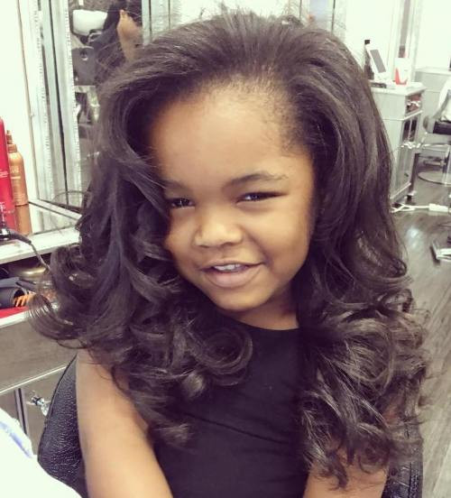 Best ideas about Girls Curls Hairstyles . Save or Pin Black Girls Hairstyles and Haircuts – 40 Cool Ideas for Now.