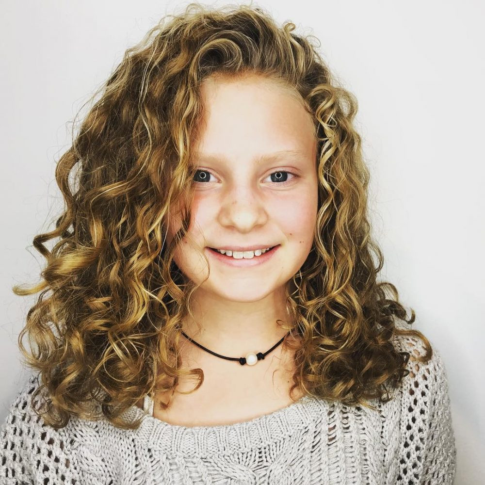 Best ideas about Girls Curls Hairstyles . Save or Pin Low Maintenance Hairstyles For Girls With Curly Hair Now.