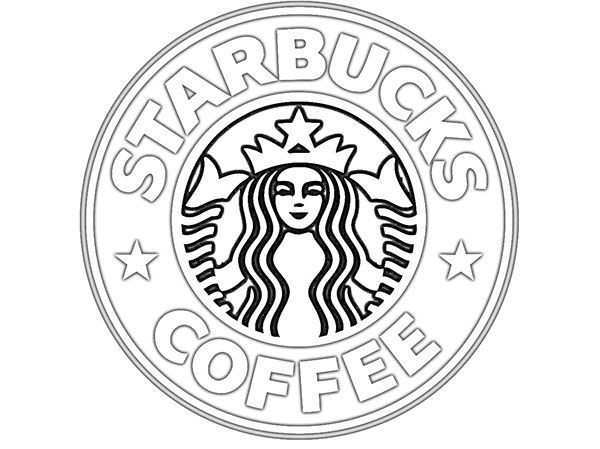 Best ideas about Girls Drinking Starbucks Coloring Sheets For Girls . Save or Pin starbucks logo Colouring Pages Now.