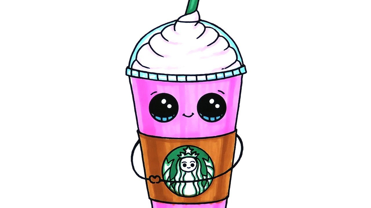 Best ideas about Girls Drinking Starbucks Coloring Sheets For Girls . Save or Pin Starbucks Frappuccino Coloring Page Now.