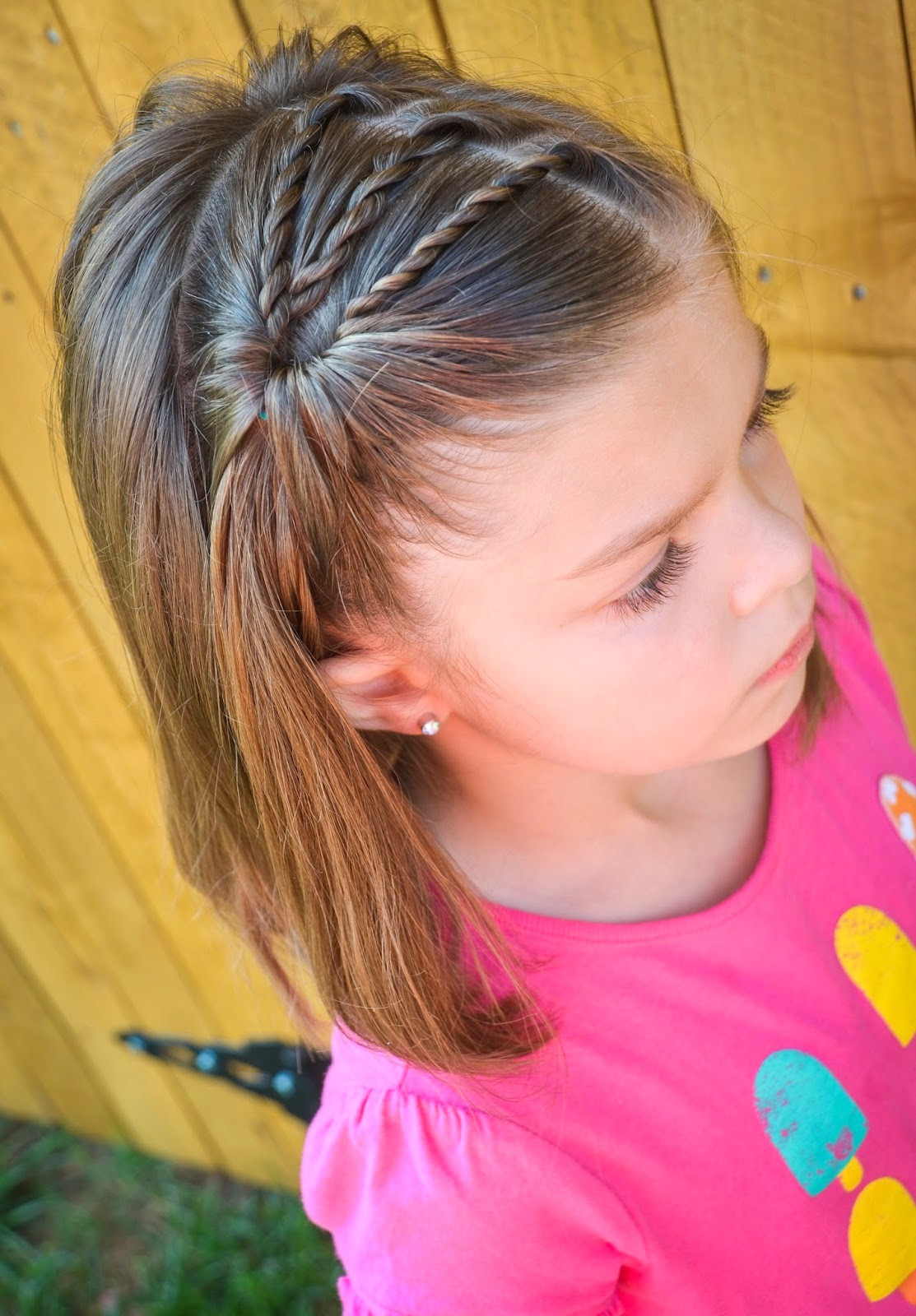 Best ideas about Girls Hair Cut . Save or Pin 25 Little Girl Hairstyles you can do YOURSELF Now.