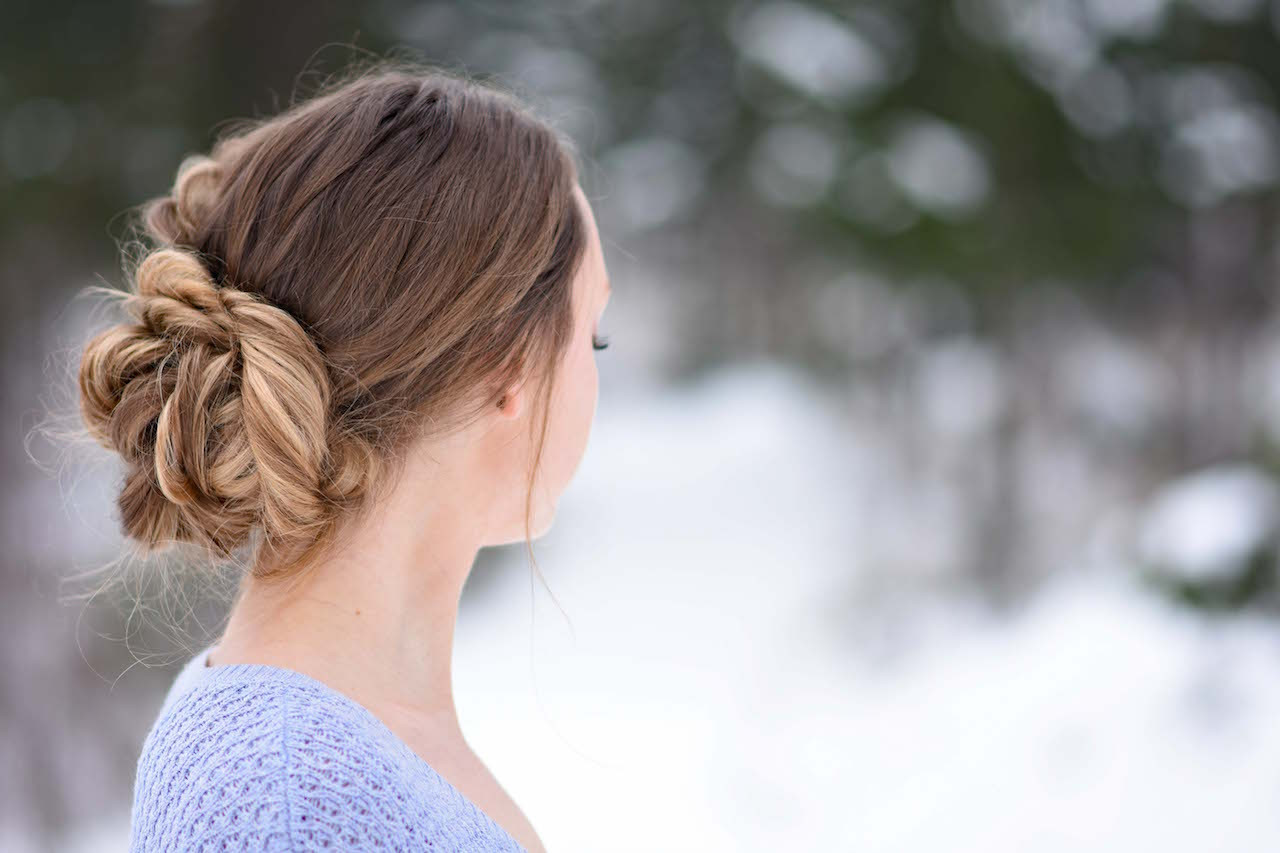 Best ideas about Girls Hair Cut Styles . Save or Pin Stacked Fishtail Updo Now.