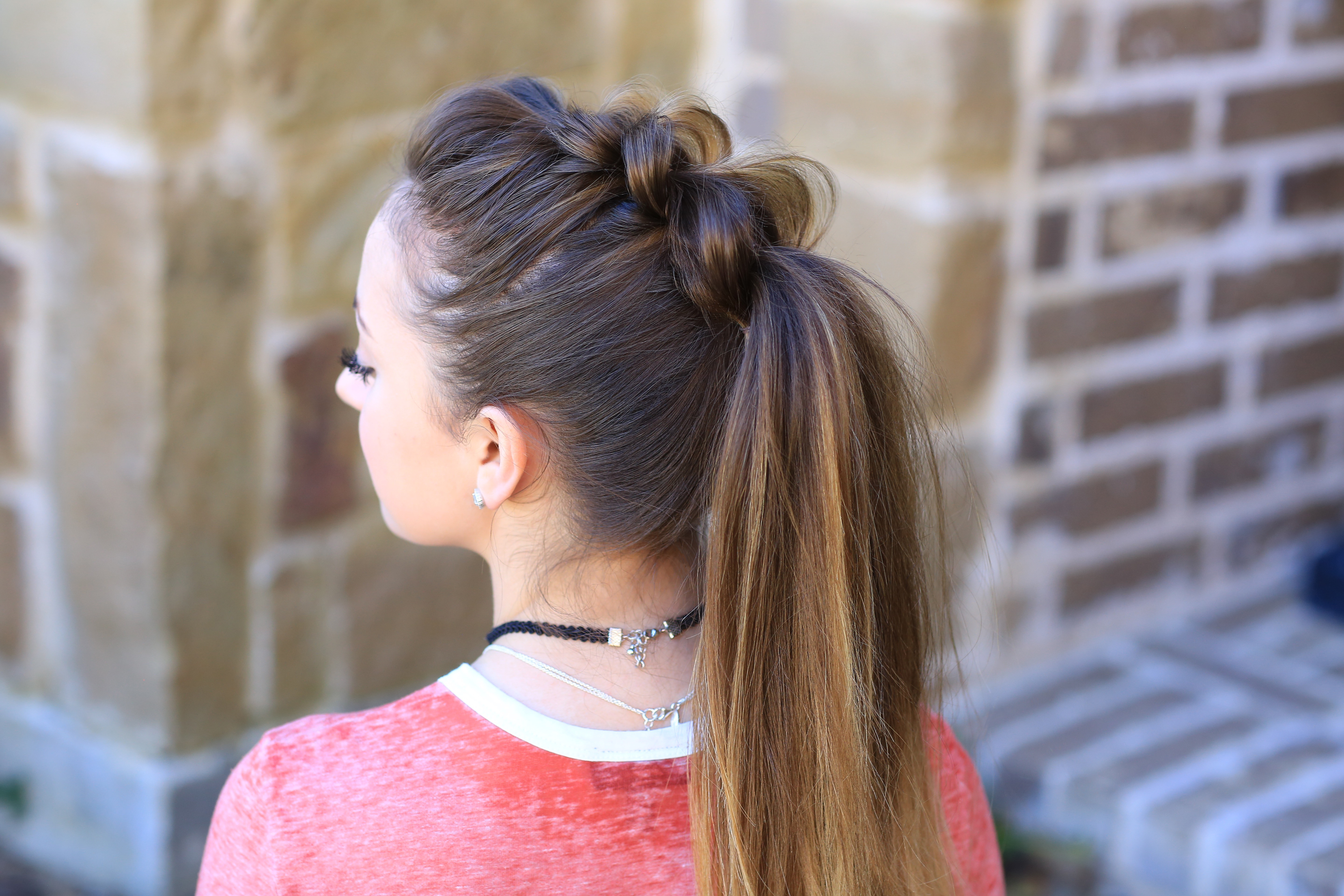 Best ideas about Girls Hair Cut Styles . Save or Pin Pull Thru Ponytail Now.