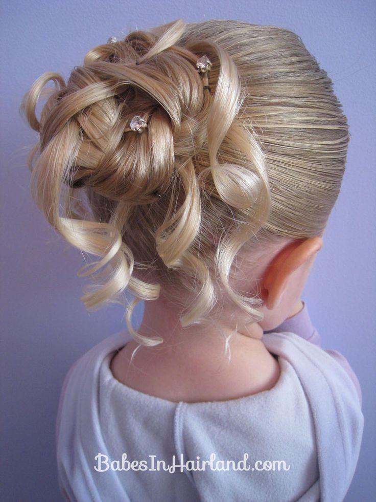 Best ideas about Girls Hair Cut Styles . Save or Pin Feather Braided Bun 2 viri Pinterest Now.