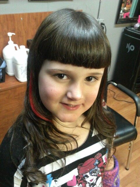 Best ideas about Girls Haircuts With Bangs . Save or Pin Little girl haircut with bangs Now.
