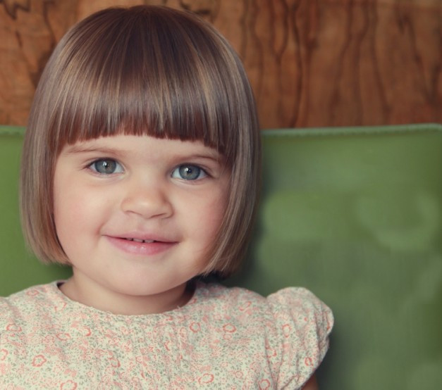 Best ideas about Girls Haircuts With Bangs . Save or Pin 42 Hairstyles For Babies ImpFashion All News About Now.