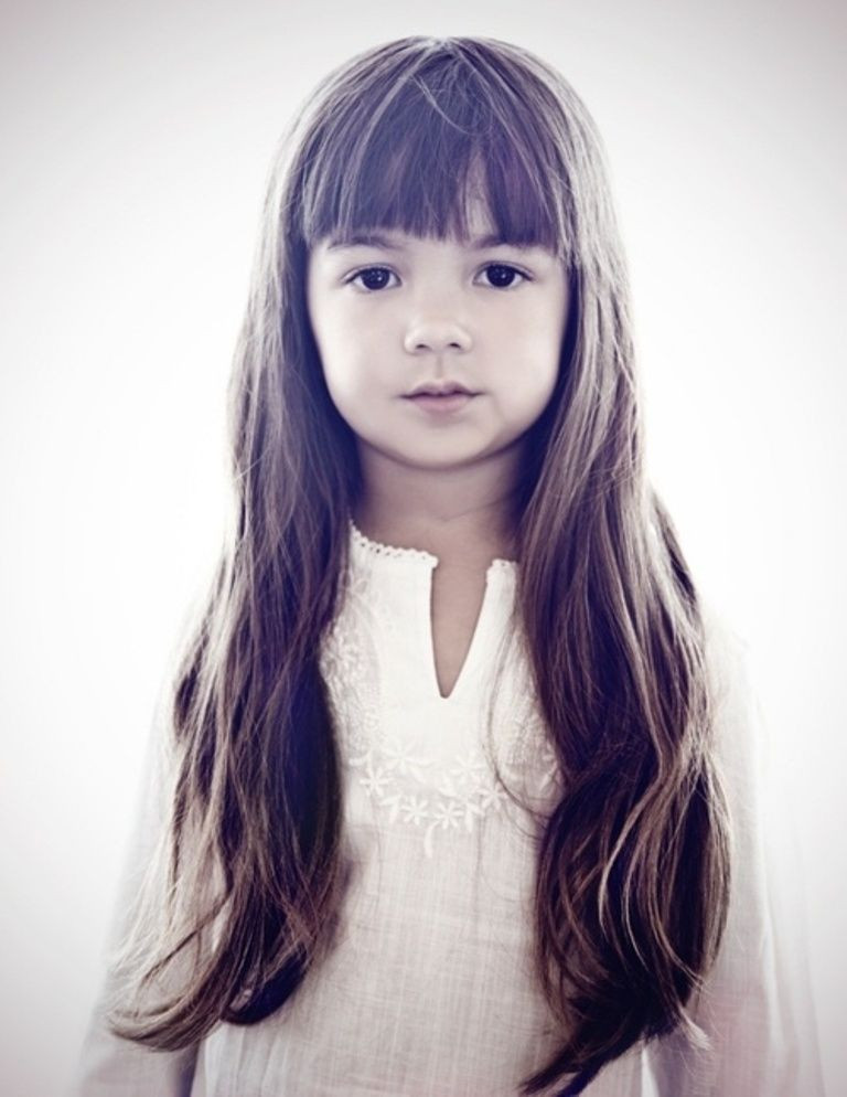 Best ideas about Girls Haircuts With Bangs . Save or Pin Cute Bangs Kid Girl Liza & the Spooks Pinterest Now.