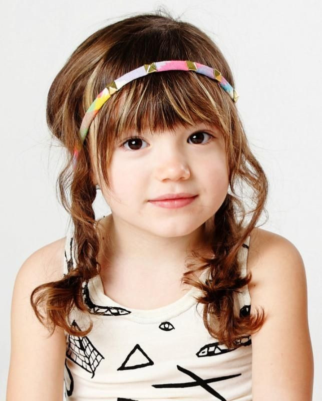Best ideas about Girls Haircuts With Bangs . Save or Pin Best 25 Little girl bangs ideas on Pinterest Now.