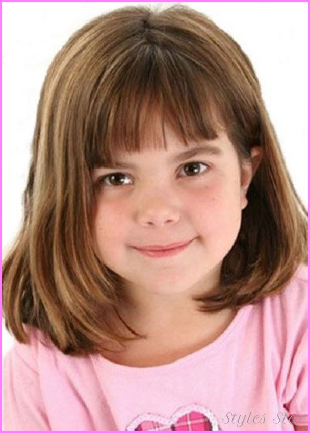 Best ideas about Girls Haircuts With Bangs . Save or Pin Little girls haircuts with bangs StylesStar Now.