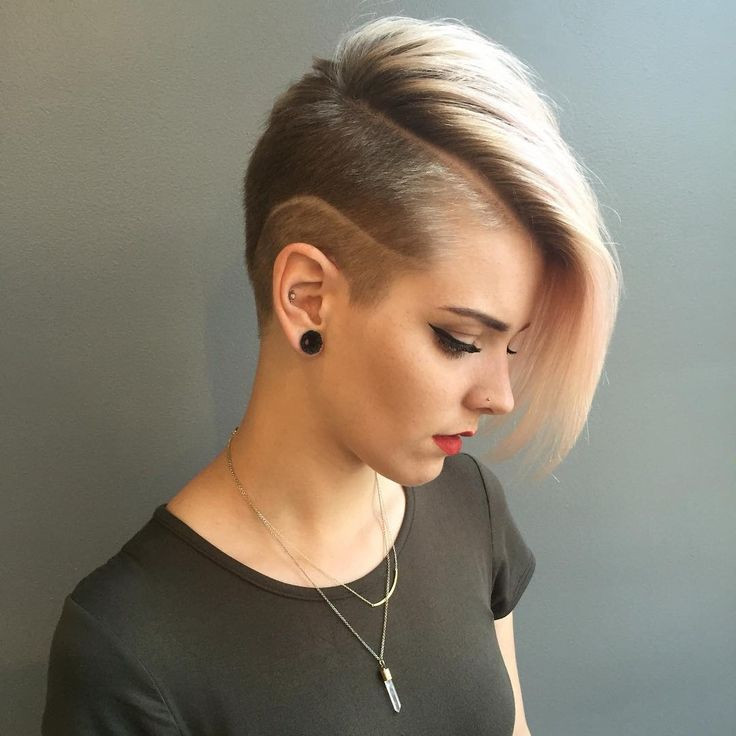 Best ideas about Girls Hairstyle Short . Save or Pin 50 Best Shaved Hairstyles for Women in 2017 Now.
