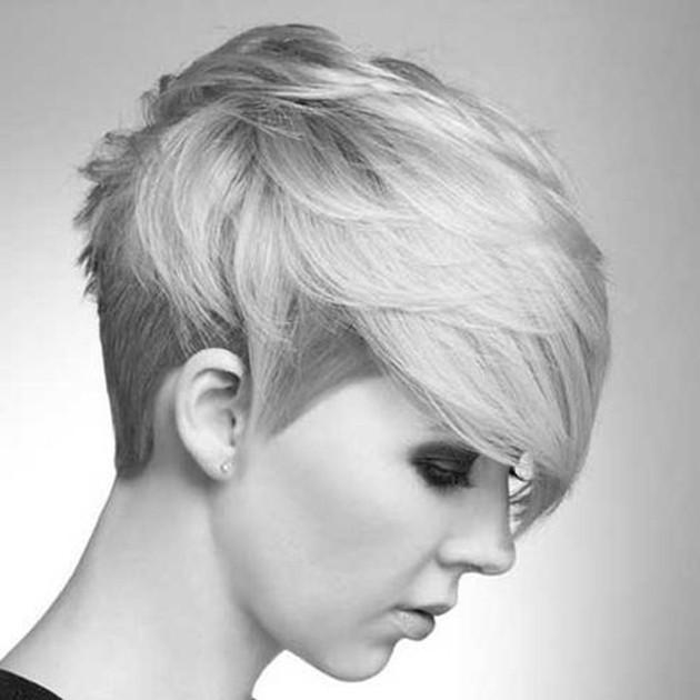 Best ideas about Girls Hairstyle Short . Save or Pin Le undercut une coupe de punks Ces 10 photos vont vous Now.