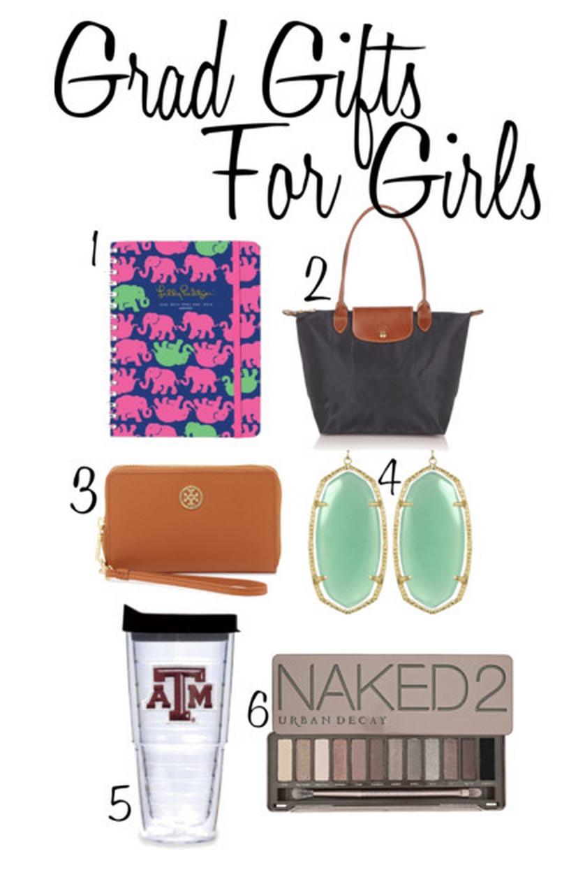 Best ideas about Girls High School Graduation Gift Ideas . Save or Pin Grad Gift Guide – Joyfully Abby Now.